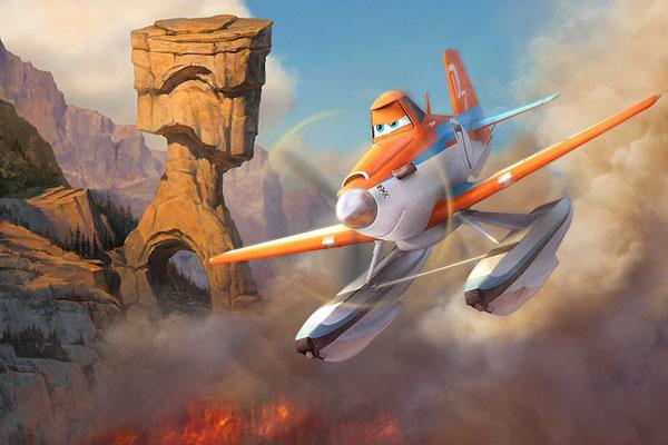 Самолеты огонь и вода planes fire rescue