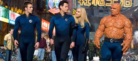 Фантастическая четверка: Вторжение Серебряного Серфера / Fantastic Four: Rise of the Silver Surfer