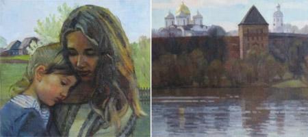 «В поисках гармонии» Юбилейная выставка Натальи Захаровой
