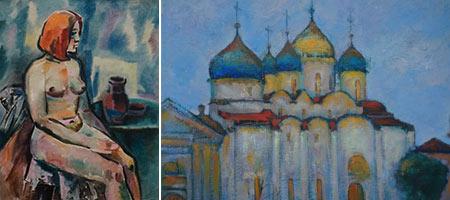 Персональная выставка Георгия Горевого