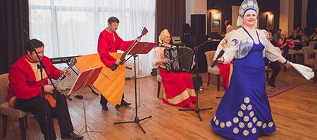 Ансамбль русских народных инструментов «Самовар». Широкая масленица