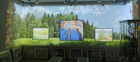 Лето. Выставочный проект «Времена года»
