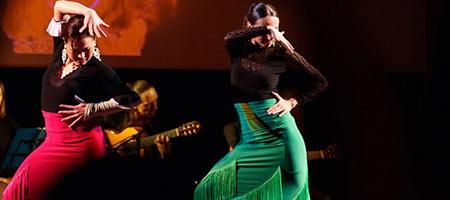 Театр музыки и танца фламенко Estrella de Oriente. На Пламени Свечи