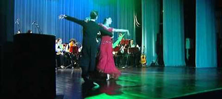 Оркестр русских народных инструментов имени В. Г. Бабанова. В вихре танца