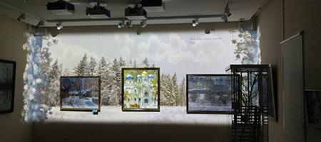 Зима. Выставочный проект «Времена года»