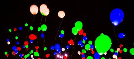 Рождественский фестиваль светошариков