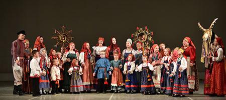 Фольклорный театр «Круговина». От колыбели до хоровода