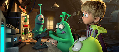 Пришельцы в доме / Luis & the Aliens
