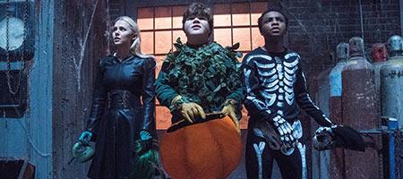 Ужастики 2: Беспокойный Хэллоуин / Goosebumps 2: Haunted Halloween
