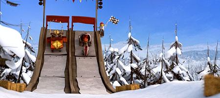 Снежные гонки / Racetime